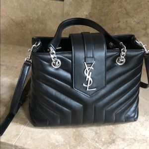 Authentic YSL Small LouLou Tote
